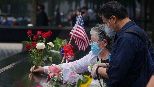 El 19 aniversario de los atentados del 11 de septiembre en EEUU - Sputnik Mundo
