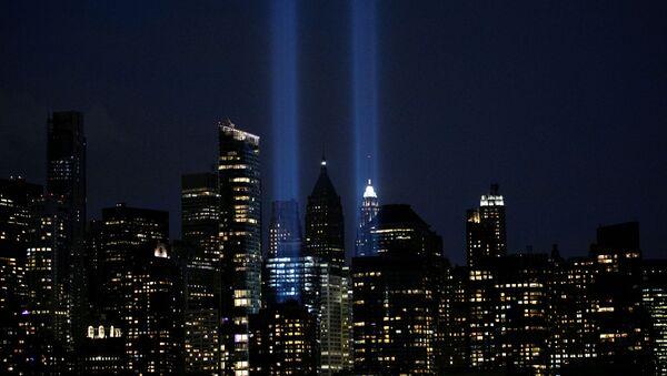 'Tribute in Light', una instalación artística que se lleva a cabo cada 11 de septiembre en honor a las víctimas del 11S - Sputnik Mundo