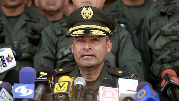 Gustavo Moreno, director encargado de la Policía de Colombia - Sputnik Mundo