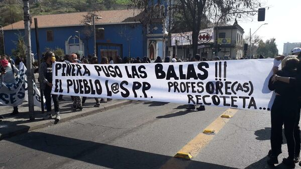 Corresponsal de Sputnik en Chile, gaseada por Carabineros - Sputnik Mundo