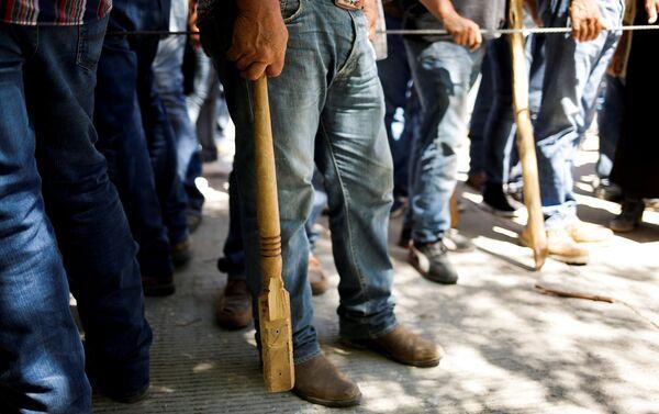Cerca de 500 agricultores tomaron a la fuerza instalaciones de la presa La Boquilla en Chihuahua para impedir se desvíe agua a EEUU - Sputnik Mundo
