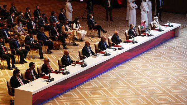 Negociaciones de paz afganas en Doha - Sputnik Mundo