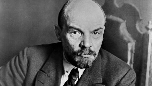 Vladímir Ilich Uliánov, más conocido como Lenin, líder bolchevique - Sputnik Mundo