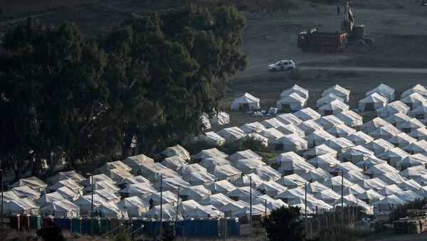 Campo de refugiados de Moria - Sputnik Mundo