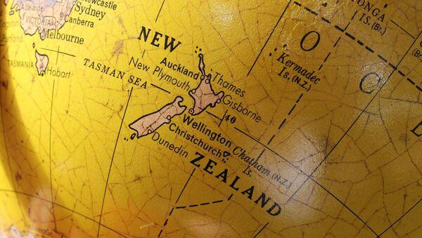 Nueva Zelanda en el mapa (imagen referencial) - Sputnik Mundo