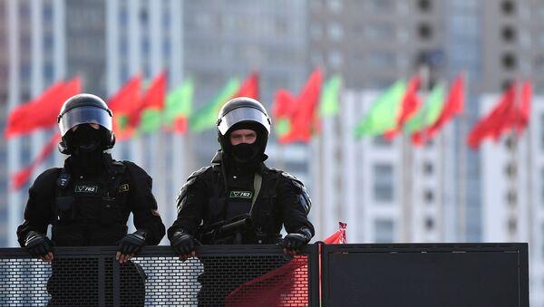Una manifestación de protesta no autorizada en Minsk  - Sputnik Mundo