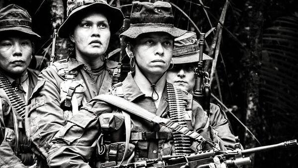 Mujeres de las FARC - Sputnik Mundo