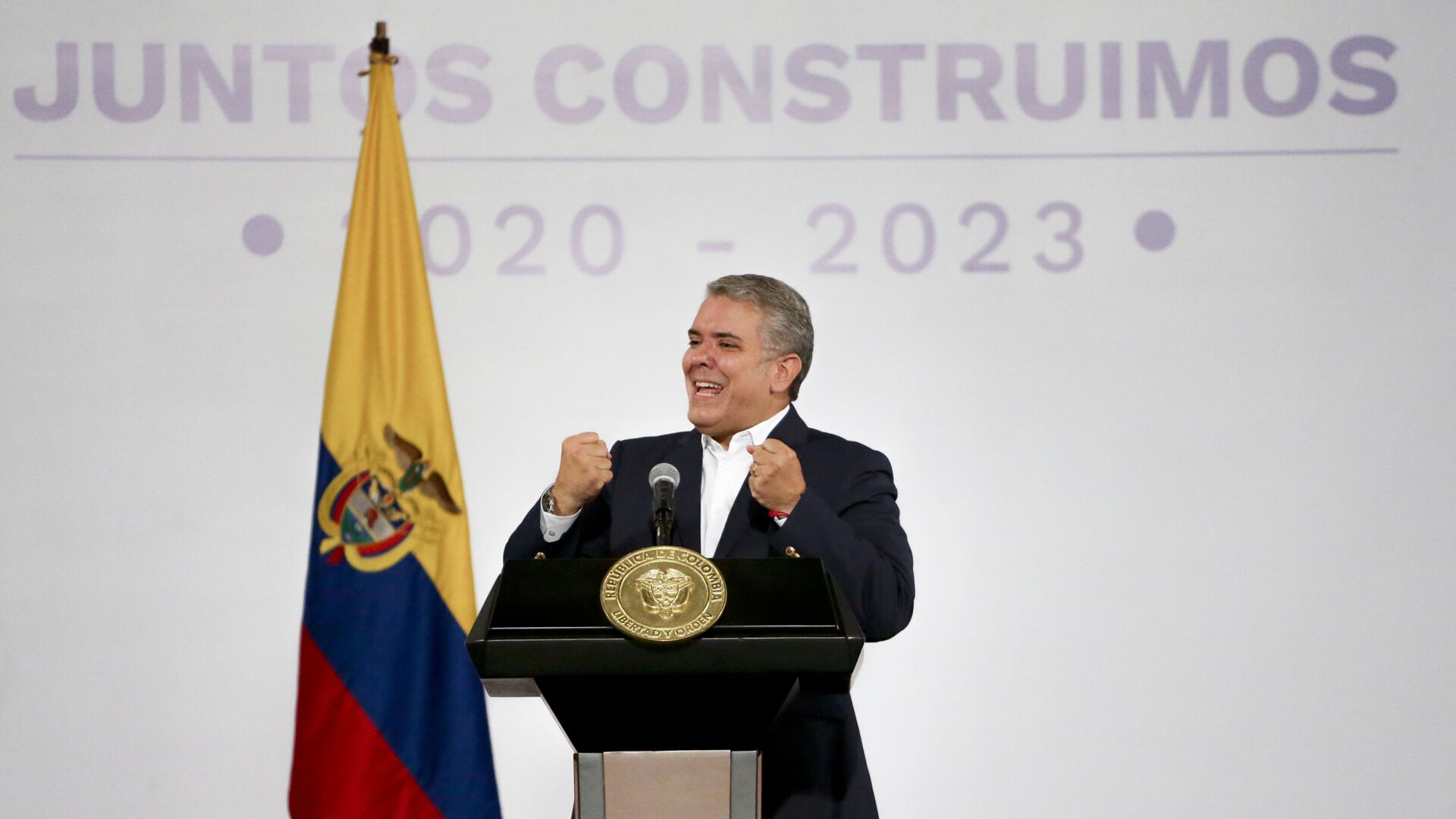Iván Duque, presidente de Colombia - Sputnik Mundo, 1920, 01.03.2021