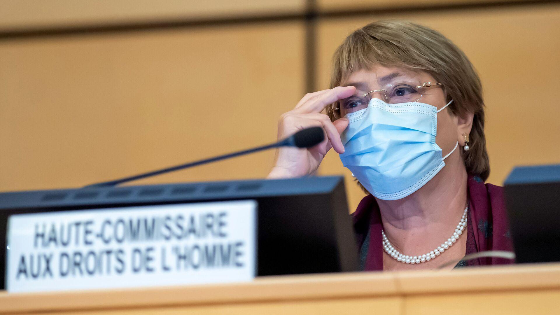 Michelle Bachelet, la Alta Comisionada de la ONU para los DDHH - Sputnik Mundo, 1920, 04.03.2021