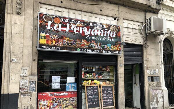 Viven actualmente más de 350.000 peruanos en el país austral, más de 70% establecidos en el Área Metropolitana de Buenos Aires. - Sputnik Mundo