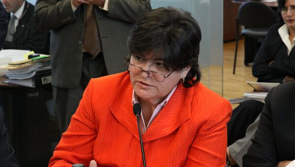 María Elsa Viteri, exministra de Economía de Ecuador - Sputnik Mundo