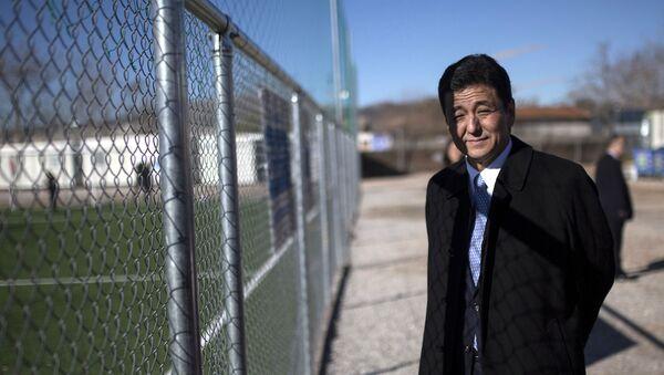 Nobuo Kishi, el hermano menor del primer ministro dimisionario Shinzo Abe - Sputnik Mundo