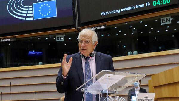Josep Borrell, jefe de la diplomacia de la Unión Europea - Sputnik Mundo