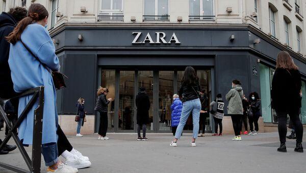Imagen referencial tienda de Zara en París - Sputnik Mundo