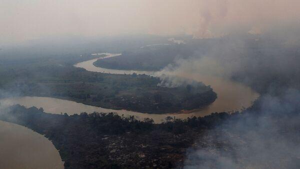 Consecuencias de los incendios en el Pantanal, Brasil - Sputnik Mundo