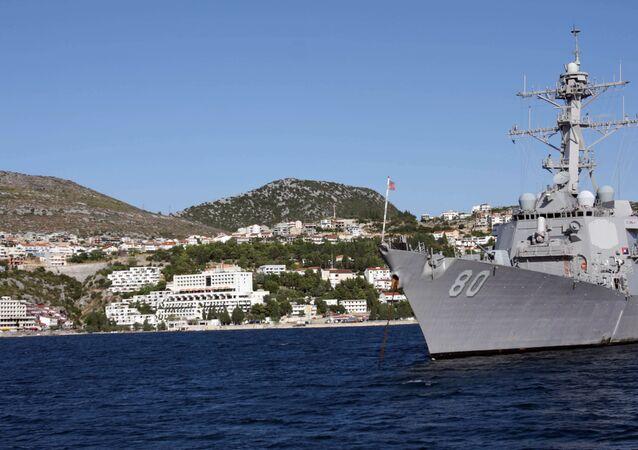 Destructor de misiles guiados USS Roosevelt