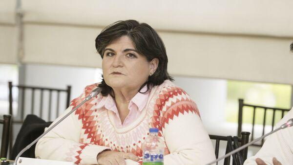 María Elsa Viteri, exministra de Finanzas de Ecuador - Sputnik Mundo
