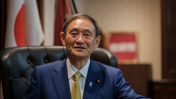Yoshihide Suga, primer ministro de Japón - Sputnik Mundo