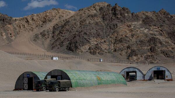 Frontera entre China y la India - Sputnik Mundo