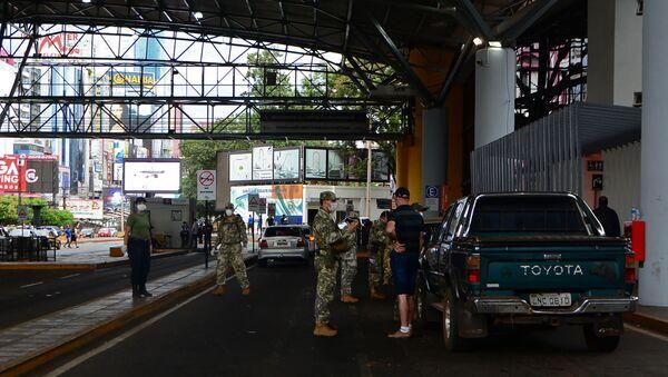 Un paso fronterizo entre Paraguay y Brasil - Sputnik Mundo