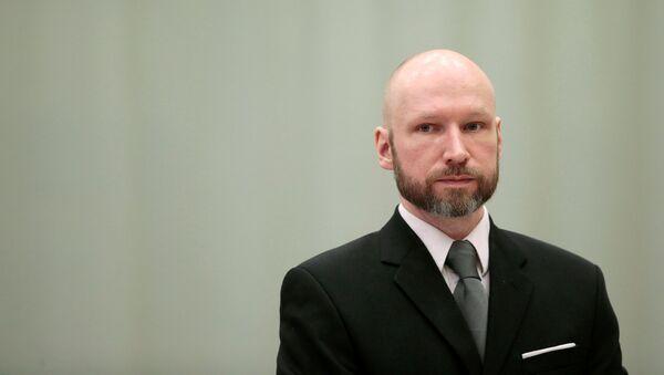 El radical Anders Breivik - Sputnik Mundo