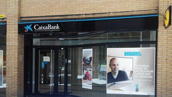 Oficina de CaixaBank - Sputnik Mundo