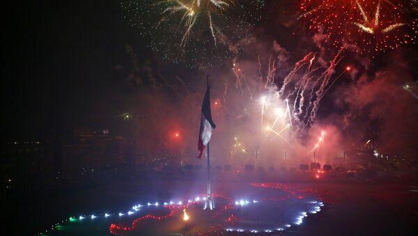 La celebración de 210 aniversario de México - Sputnik Mundo