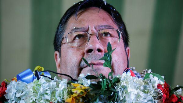 Luis Arce, candidato presidencial del MAS - Sputnik Mundo