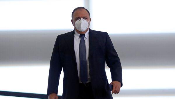 Eduardo Pazuello, ministro de Salud de Brasil - Sputnik Mundo