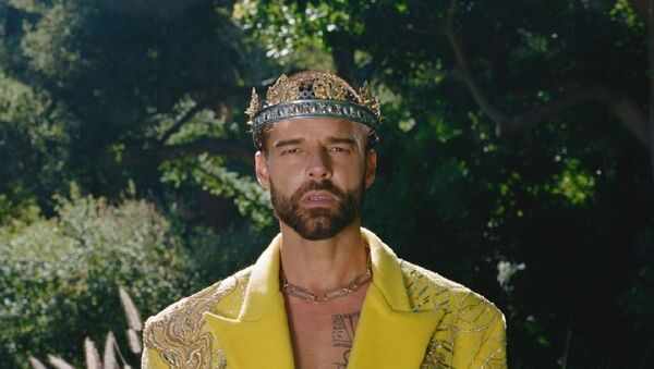 Ricky Martin, cantante puertorriqueño - Sputnik Mundo
