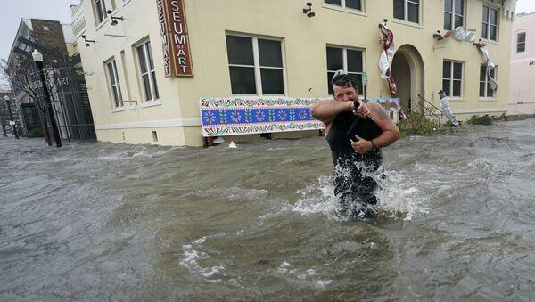 El huracán Sally destroza la costa sureste de EEUU    - Sputnik Mundo