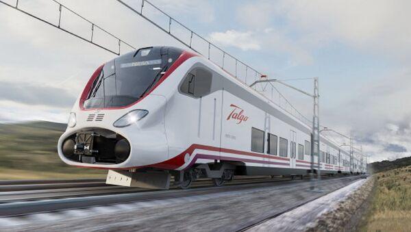 Tren Vittal, de la empresa española Talgo. - Sputnik Mundo