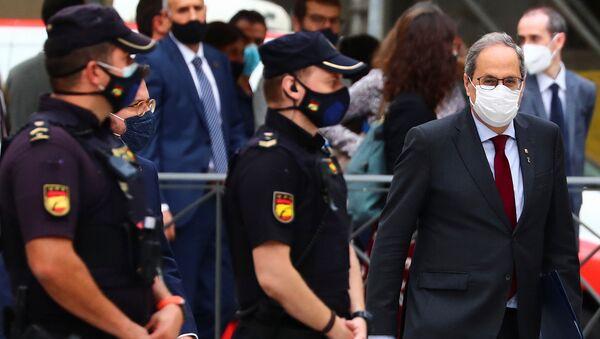 Quim Torra, presidente de Cataluña - Sputnik Mundo
