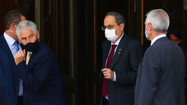 Quim Torra, el presidente de Cataluña - Sputnik Mundo