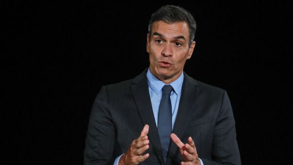 Pedro Sánchez, presidente del Gobierno español - Sputnik Mundo