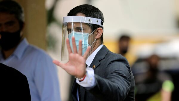 Juan Guaidó, opositor venezolano - Sputnik Mundo