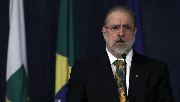 Augusto Aras, el fiscal general de Brasil - Sputnik Mundo