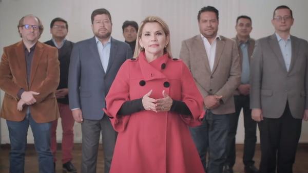 Jeanine Áñez declina su candidatura para las presidenciales de Bolivia, el 17 de septiembre de 2020 - Sputnik Mundo