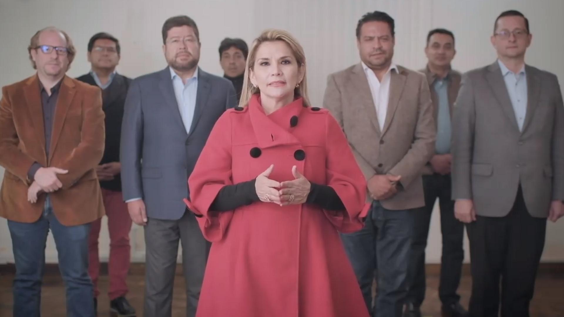 Jeanine Áñez declina su candidatura para las presidenciales de Bolivia, el 17 de septiembre de 2020 - Sputnik Mundo, 1920, 09.07.2021