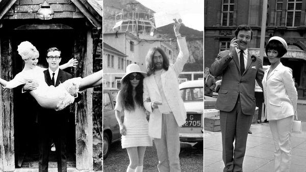 Sputnik te explica cómo ha cambiado la moda nupcial en los últimos cien años con las fotos de las bodas de monarcas, políticos y estrellas del mundo del espectáculo.    - Sputnik Mundo