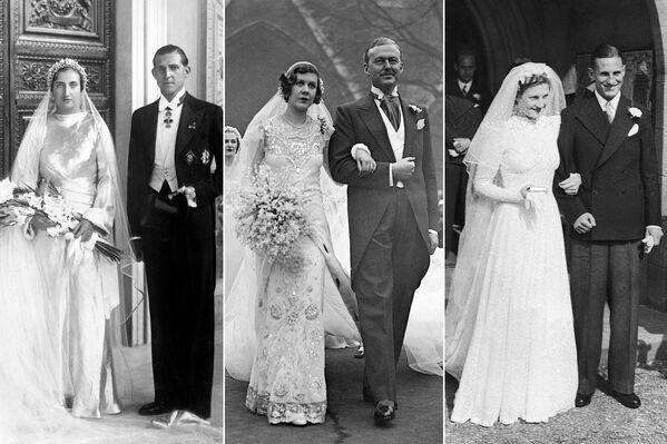 Rebeldes, cenicientas y 'hippies': cómo ha cambiado la moda nupcial en 100 años    - Sputnik Mundo