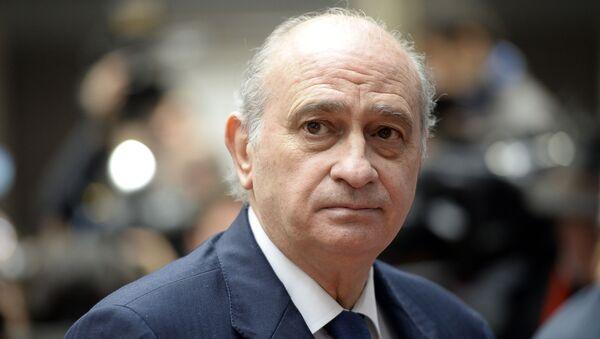 Jorge Fernández Díaz, exministro del Interior de España  - Sputnik Mundo