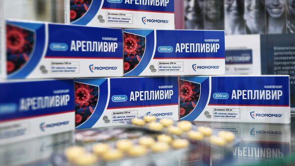 Areplivir, fármaco ruso contra el COVID-19 - Sputnik Mundo