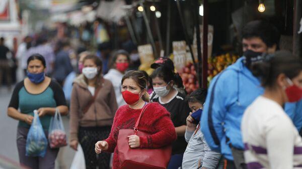 El coronavirus en Paraguay - Sputnik Mundo