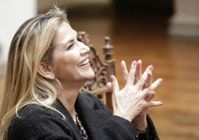Jeanine Áñez, la presidenta transitoria de Bolivia