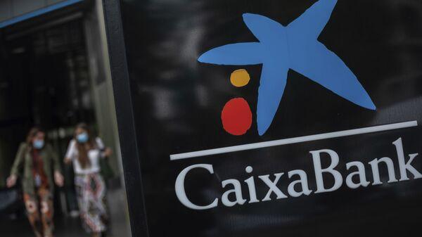 El banco español CaixaBank - Sputnik Mundo