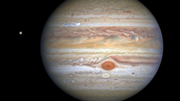 Una imagen de Júpiter captada por el telescopio espacial Hubble - Sputnik Mundo