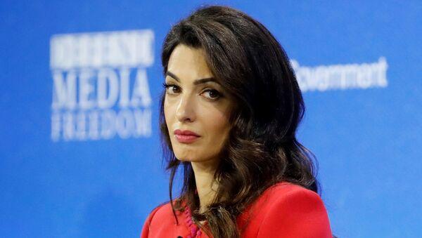 Amal Clooney, abogada, activista y escritora libanesa-británica - Sputnik Mundo