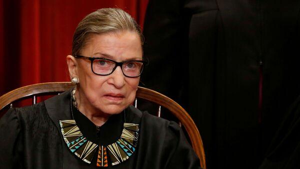 Ruth Bader Ginsburg, jueza de la Corte Suprema de Estados Unidos - Sputnik Mundo