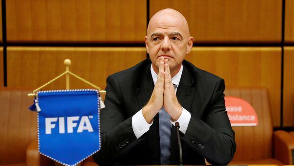 Gianni Infantino, presidente de la FIFA - Sputnik Mundo